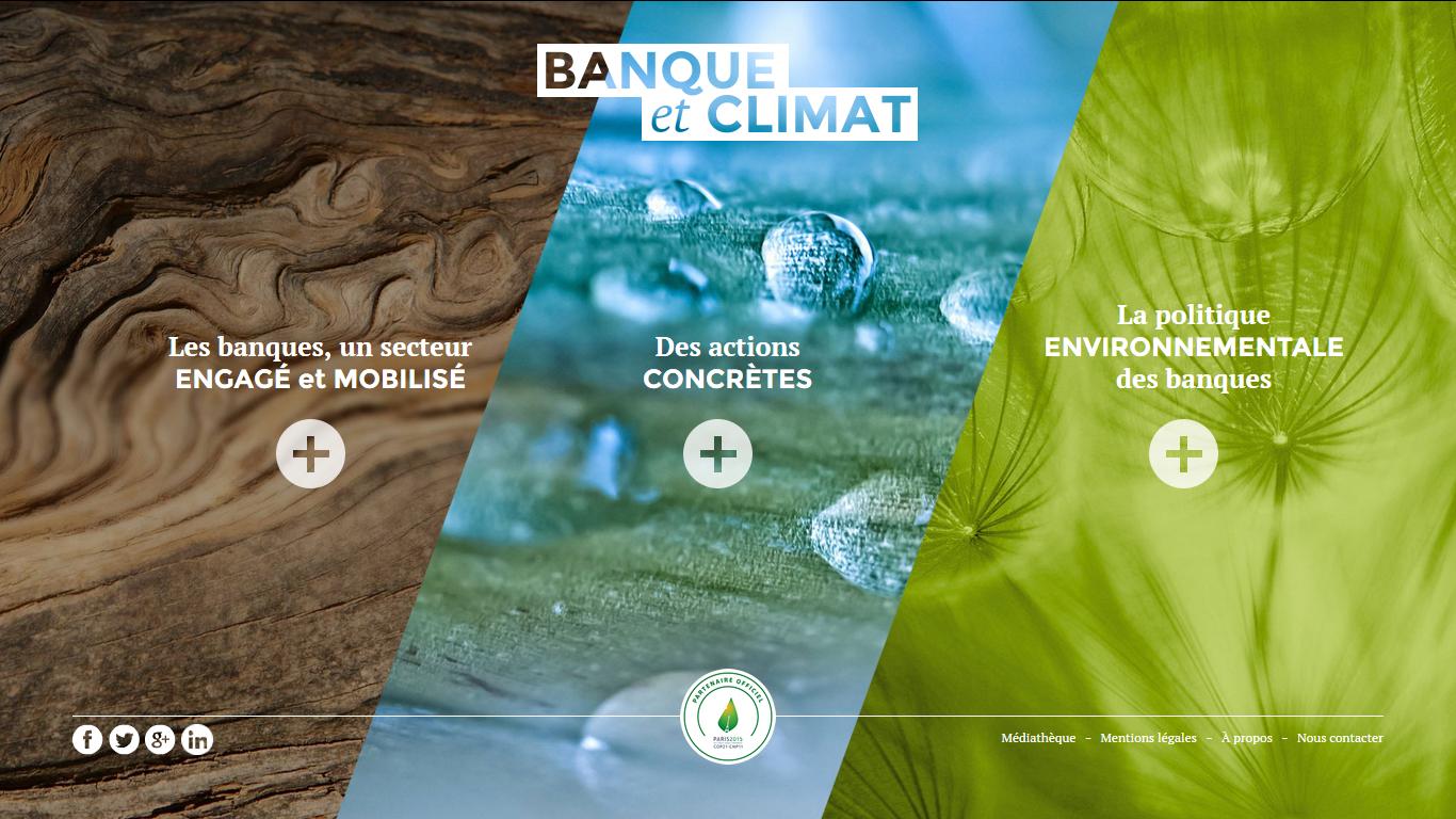 Banque et climat